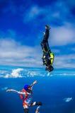Skydive 3 stockbilder