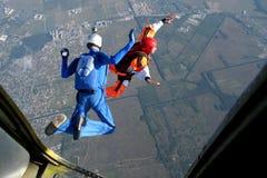 skydive stockfotografie
