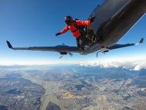 skydive Stockbilder