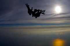 Skydive Royalty Free Stock Photography