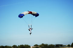 Skydiver 2 Stock Photography