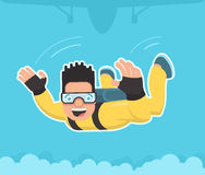 skydiver Photo stock