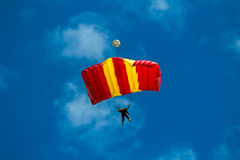 skydiver Obrazy Royalty Free