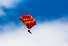 skydiver Photo libre de droits