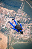 Skydiver in free Royalty Free Stock Image