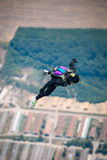 Skydiver in free Stock Photography