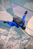 Skydiver in free Royalty Free Stock Photo