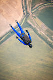 Skydiver in free Royalty Free Stock Photography