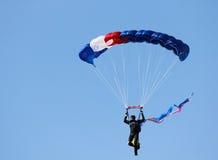 Skydiver masculino Foto de archivo libre de regalías