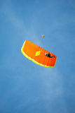 Skydiver in the sky Royalty Free Stock Photos
