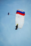 Skydiver in the sky Royalty Free Stock Photo