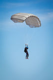 Skydiver in the sky Stock Images
