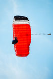 Skydiver in the sky Royalty Free Stock Photography