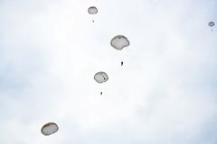 Skydivers Royalty Free Stock Photo