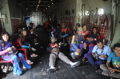 Skydivers Stock Image