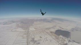 Skydiving录影 股票录像