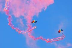 Skydiving Imagens de Stock