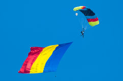 Skydiving стоковая фотография rf