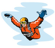 Skydiving royalty free stock photo