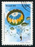 skydiving Royalty-vrije Stock Foto's