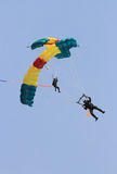 Skydiving attractions Royalty Free Stock Photo