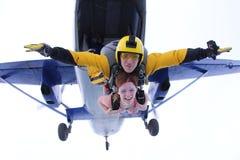 skydiving E stockfotos
