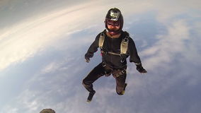 Skydiving Foto stock video footage
