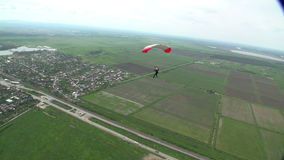Skydiving Foto stock video