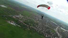 Skydiving Foto stock footage