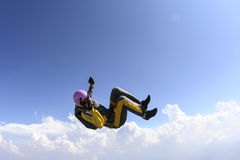 Skydiving fotografia. Fotografia Royalty Free