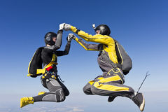 Skydiving photo. Stock Photography