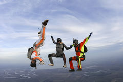 Skydiving photo. Stock Photos