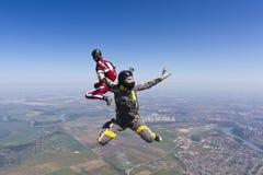 Skydiving photo. Stock Photos