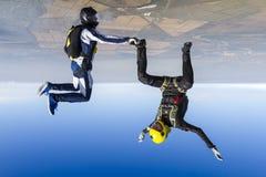 Skydiving photo. Royalty Free Stock Photos