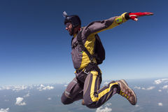 Skydiving photo. Royalty Free Stock Images