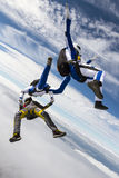 Skydiving photo. Stock Images