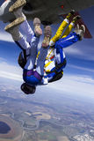 Skydiving photo. Royalty Free Stock Photo