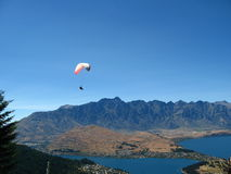 Skydiving, Queenstown, New Zealand Royalty Free Stock Image