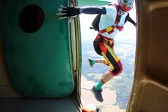 skydiving Un momento de salida foto de archivo libre de regalías