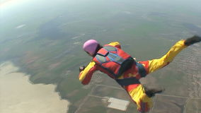 Skydiving Video. Tandem. Stock Image