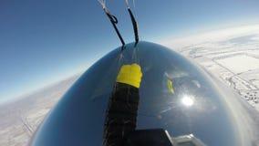 Skydivingsvideo stock video