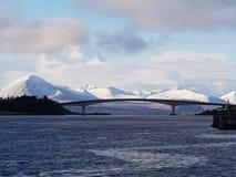 Skye桥梁 库存照片