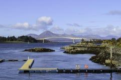 Skye桥梁 免版税库存图片