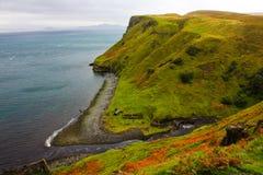 SKYE海岛,苏格兰海岸  库存图片