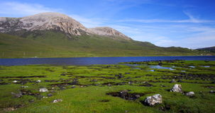 skye Шотландии острова холмов красное Стоковая Фотография