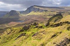 skye Шотландии quirang острова Стоковая Фотография RF