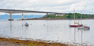 Skye Bridge Royalty Free Stock Photo