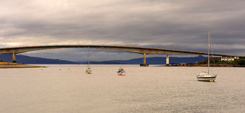 The Skye bridge, Scotland Royalty Free Stock Photography