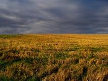 Skye e imagen conceptual del campo. Imagen de archivo