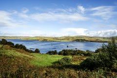 Skye-Fischfarm Lizenzfreie Stockbilder